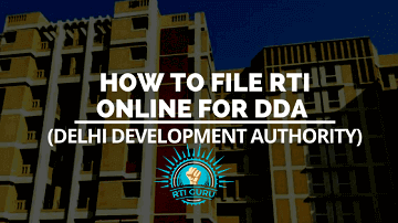rti online second appeal or complaint rti online for dda (delhi development authority) india
