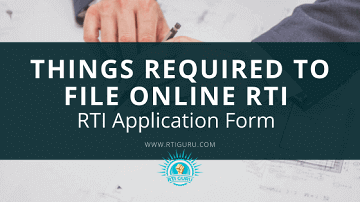 rti online second appeal or complaint important things required to file online rti application? india