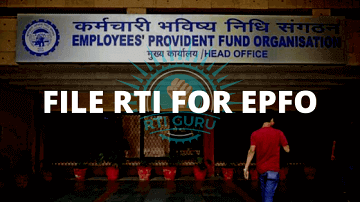 rti online second appeal or complaint file an rti application for epfo? india