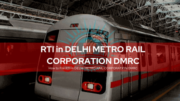 rti online second appeal or complaint rti for delhi metro rail corporation dmrc india