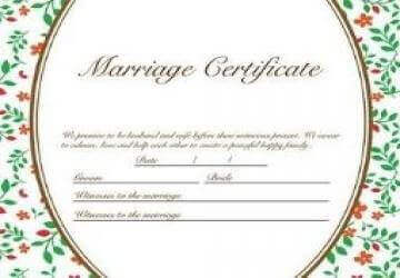 rti marriage certificate and registration