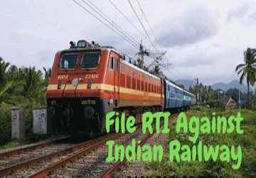 rti online second appeal or complaint file online rti against indian railway - step by step india