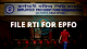 rti online for File an RTI application for EPFO?